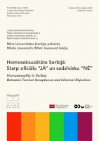 Sociologist Miloš Jovanović on homosexuality and Europeanization in Serbia