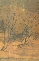 "Picture: Wang Wei ""Painting on Contemplating Snow on the River Bank"" (王维《江干雪意图》)"