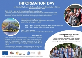 Information Day at the National Library of Latvia on May 20