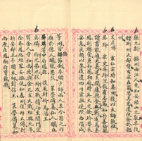 Excerpt from the book: An Investigation of Ancient Sites (Guji kaozheng 古蹟考證) from P. Šmits' collection in the NLL