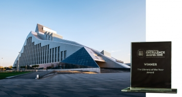 National Library of Latvia wins the Library of the Year Award!